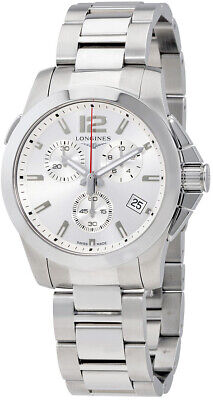 Discounted Brand New Longines Conquest Chronograph Men's Watch L37024766