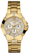Guess Gold Tone Watch
