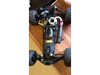 Nitro rc car/ truggy job lot remote control hpi kyosho