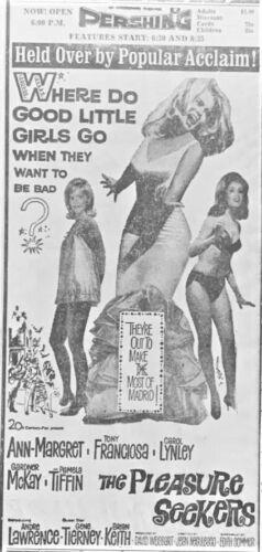 1965 Ann-Margret movie advertisement - Original