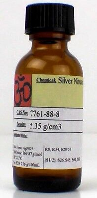 Silver Nitrate 2 Gram Large Crystals