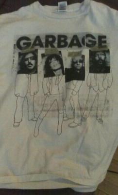 Garbage Shirley Manson  L  Tshirt Bleed Like Me Tour   Rare