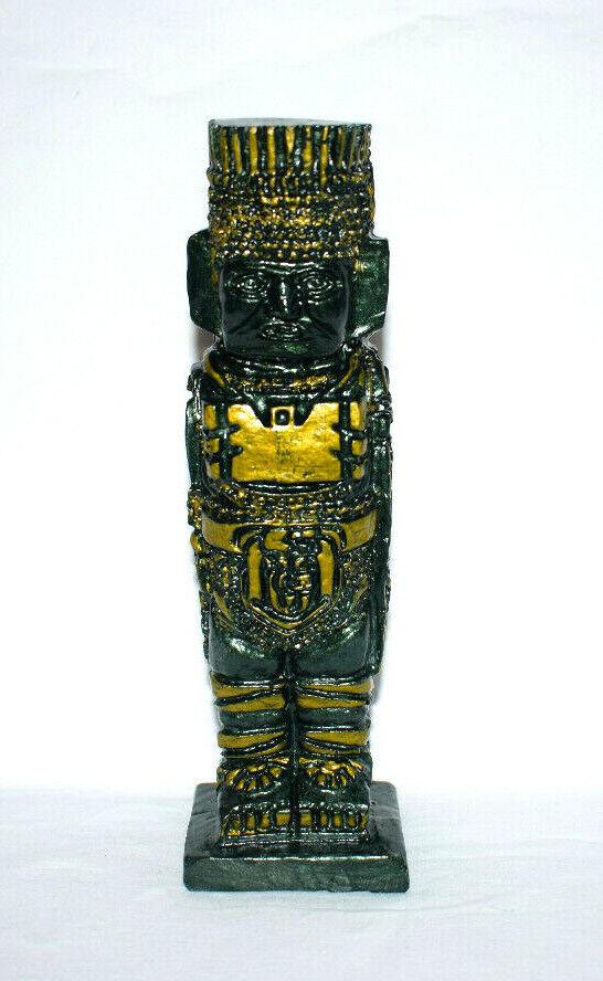 Tolteken Atlante von Tula Inka Maya Azteken Figur Präkolumbischer Südamerika