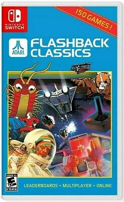 Atari Flashback Classics Nintendo Switch (USA Edition) - New and Sealed
