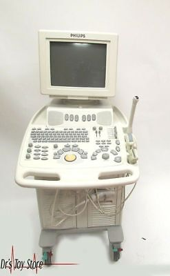 Philips Envisor Chd Ultrasound System With Transducers