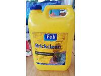 Almost full tub of Brick Clean