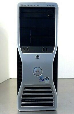 DELL Precision T3400 - Model: DCTA - Windows Vista -Intel Core 2 Duo       CPU19