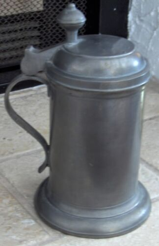 Antique Pewter Covered 1800