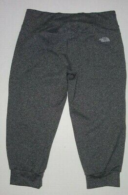 The North Face Cropped Athletic Sweatpants Women S Gray Hiking  Capri Knicker Cropped Athletic Hosen