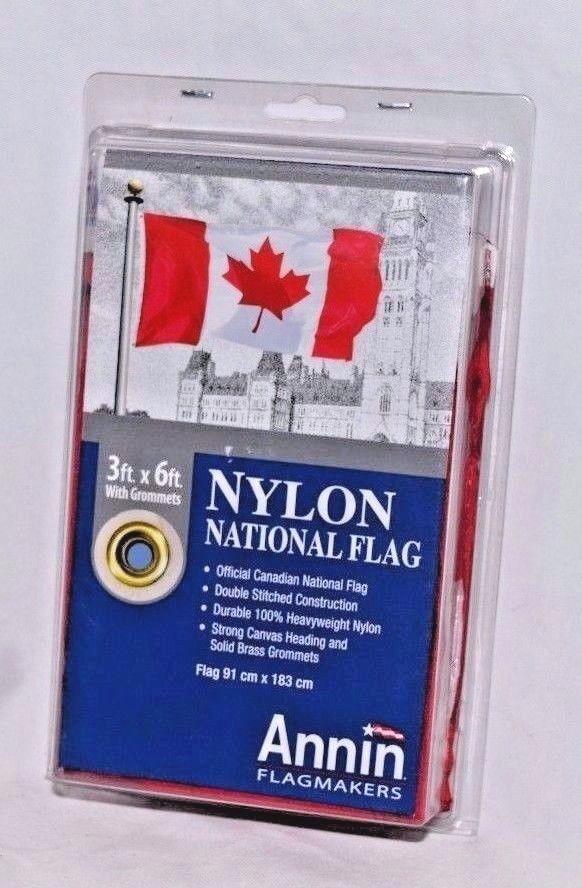 Annin Flagmankers 3 x 6' Canada Canadian Flag Heavy Nylon /