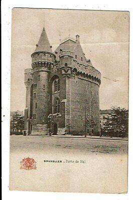 CPA-Carte Postale-Belgique-Bruxelles-Porte de Hal  au début 1900 VM13865