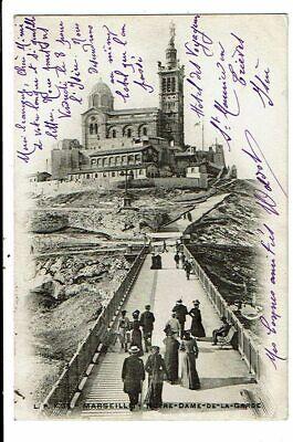 CPA-Carte Postale-FRANCE-Marseille- Notre Dame de la Garde en 1904 VM13998