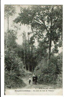 CPA-Carte postale-FRANCE-Neauphle-le-Château- un coin du bois de villers-VMO1667