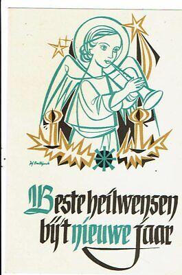 CPA-carte postale-Belgique-Beste Heilwensen bij Nieuwe Jaar VM16052