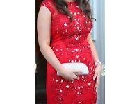 Gorgeous Red Rosie's Closet Formal Dress