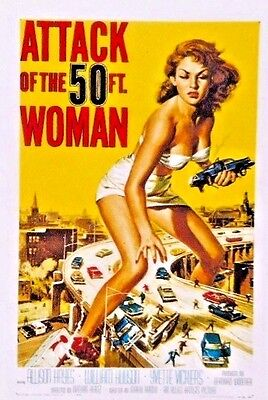 Home Decorators Contact Number Attack Of The 50 Foot Woman Sticker Decal Classic B Movie New  Home Decoration Products