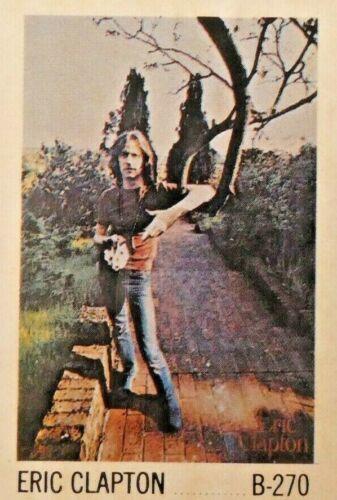 Vintage NOS 1969 Eric Clapton Poster Unopened In Original Plastic