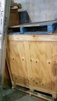 Wooden Crates For $Sale (905) 799-4683