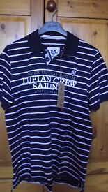 Lufian polo shirt NEW with tags
