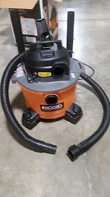 Ridgid 6 Gal Professional Wet Dry Workshop Vacuum Cleaner 6 Peak Hp Motor Wd0670