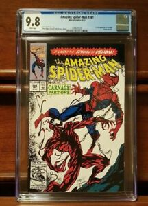 Amazing Spider-man #361 - CGC 9.8 - First appearance of CARNAGE