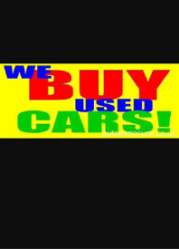 Cars and vans wanted cash paid !