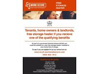 FREE STORAGE HEATERS