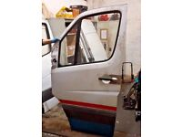 2010 MERCEDES SPRINTER VW CRAFTER W906 906 PASSENGER LEFT SIDE COMPLETE DOOR