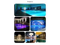 Lumilux 35W PAR56 -RGB (Multi-Colour) LED Swimming Pool Lamp - IP68 - Inc. Remote Control