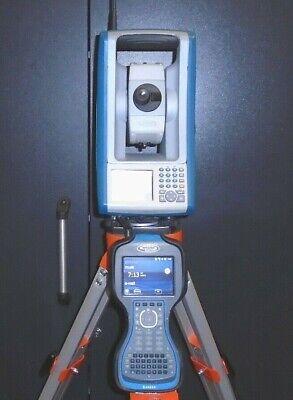 Spectra Precision Focus 30 3 Robotic Total Station Tds Ranger 3 W Survey Pro