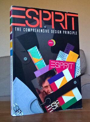 ESPIRIT The Comprehensive Design Principle 1980s fashion design clothing catalog
