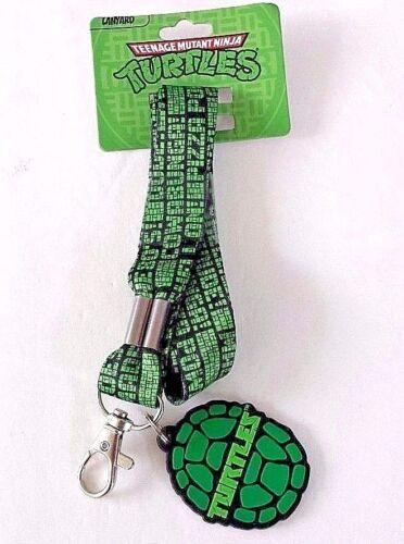 Teenage mutant ninja turtles shell lanyard keychain new