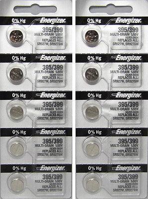 10  395/399  ENERGIZER WATCH BATTERIES