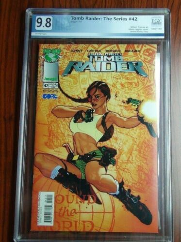 Tomb Raider #42 Adam Hughes cover Graded PGX 9.8