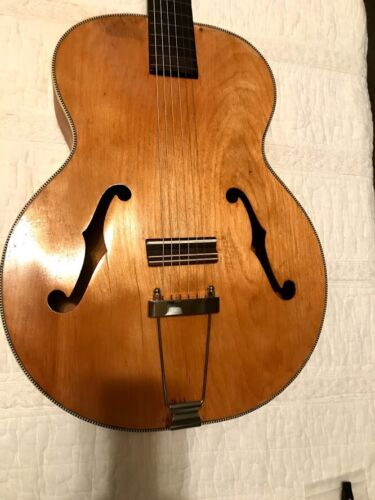 HARMONY BROADWAY ARCHTOP BIRCH ACOUSTIC GUITAR 1948 VINTAGE