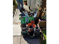 free plastic pots all sizes