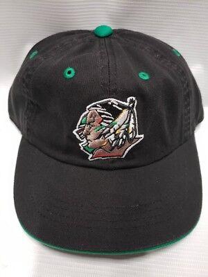 North Dakota Fighting Sioux kids boys Youth Baseball Hat black hockey -