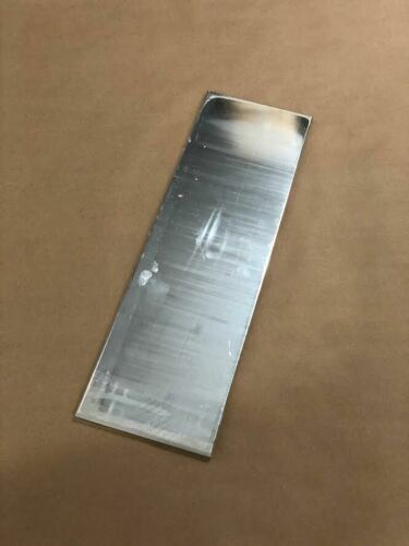 "1/4"" X 6"" Aluminum Plate 20"" Length Polished Mill Bar Stock .25"" .250"""
