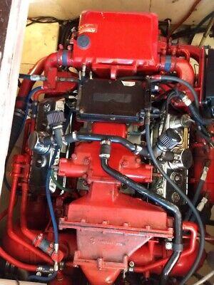 Detroit Diesel 6v92TA DDEC III Marine Engines (2) with Twin Disc transmissions
