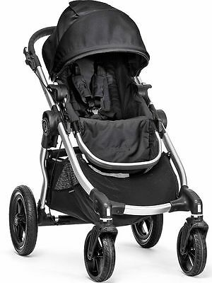 2016 Baby Jogger City Select All Terrain Single Stroller Silver Frame Onyx New