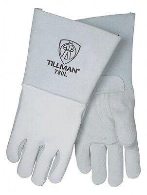 Tillman 750 Small Stick Welding Gloves Pearl Elkskin 14 Length 1pair