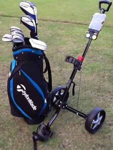 Golf Clubs RH men's Full set RBZ + Cart bag & Putter Alphington Darebin Area Preview