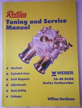 Weber DCOE service and tuning manual Freemans Reach Hawkesbury Area Preview