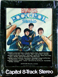 THE-BEATLES-Rock-N-Roll-Music-NEW-SEALED-8-TRACK-CARTRIDGE-TAPE