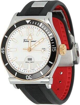 Salvatore Ferragamo Men's FF3110014 FERRAGAMO 1898 SPORT Black Strap Watch