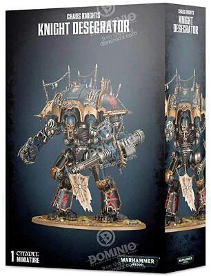 Chaos Knight Desecrator Chaos Knights 40K Warhammer NIB FREE SHIPPING