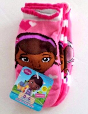 Mädchen 3-pack Slips (Doc McStuffins 3 pack no-slip safety toe socks size 18-24 mos or 3T-5T new)