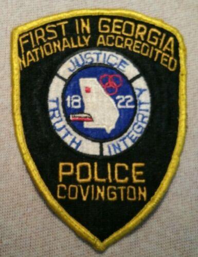 GA Covington Georgia Police Patch