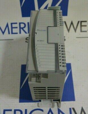 Allen Bradley Micrologix 1762-iq16 Series B Rev A 16 Pt 24vdc Sinksource Input