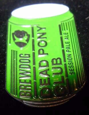 Brewdog Brew Dog Dead Pony Club Lapel Pin Badge Button Craft Brewery Brewing